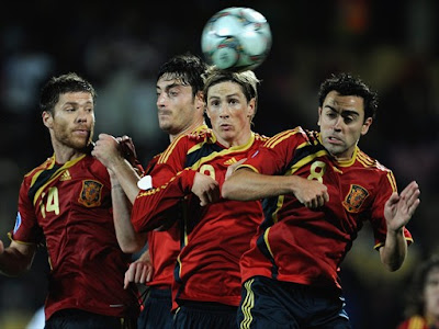 Xabi Alonso World Cup 2010 Spain Football Players