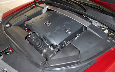 2011 Cadillac CTS Coupe Engine Auto Car Wallpaper