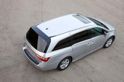 2011 Honda Odyssey Overhead