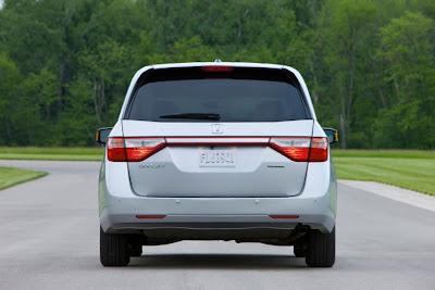 2011 Honda Odyssey Rear View