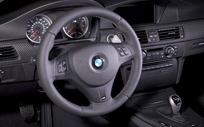 2011 BMW M3 Frozen Gray Coupe Steering Wheel View