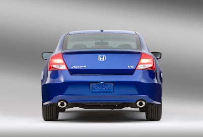 2011 Honda Accord Coupe Rear View