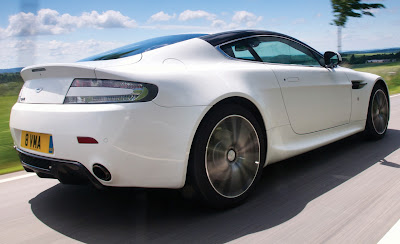 2011 Aston Martin V8 Vantage N420 Rear Side View