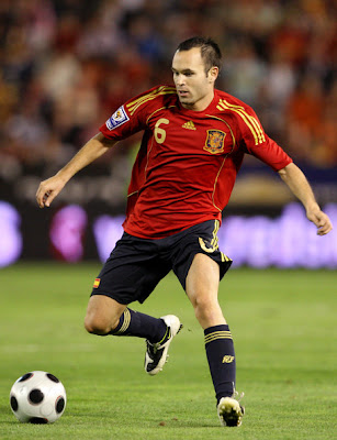 Andres Iniesta World Cup 2010 Poster