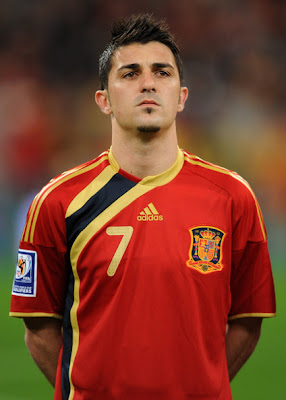 David Villa World Cup 2010 Pictures