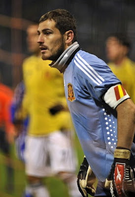Iker Casillas World Cup 2010 Spain's Goalkeeper