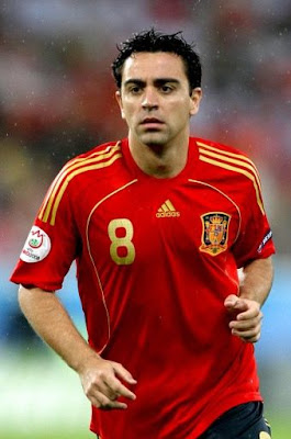 Xavi Hernandez World Cup 2010 Football Picture