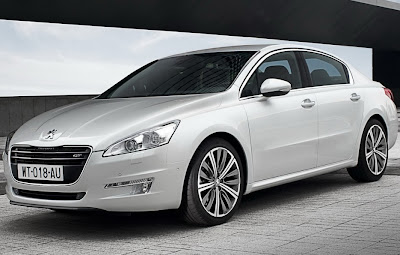 2011 Peugeot 508 Luxury Sedan Cars