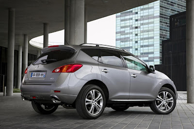 2011 Nissan Murano Diesel Side View