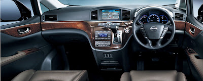 2011 Nissan Elgrand Car Interior