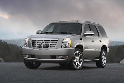 2011 Cadillac Escalade Front View