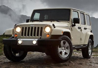 2011 Jeep Wrangler Front Angle View