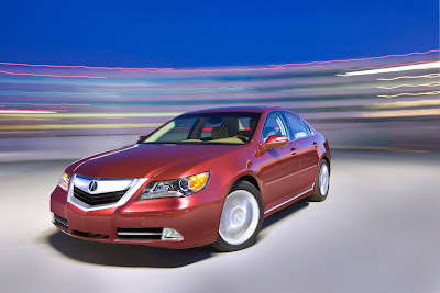 2010 Acura RL Luxury Sedan