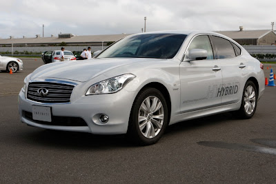 2011 Infiniti M35h Official Pictures