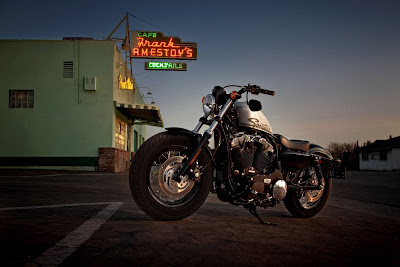 2011 Harley-Davidson Forty-Eight 48 Motorcycle