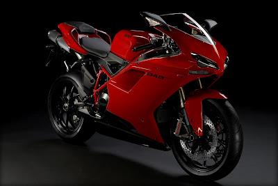 2011 Ducati 848 EVO Sports Bike
