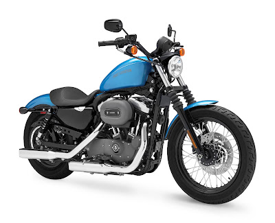 2011 Harley-Davidson XL 1200N Nightster Touring Bike
