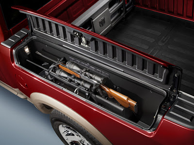 2011 Dodge Ram Outdoorsman Trunk Area  Place