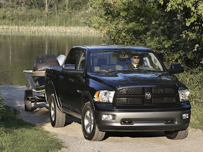 2011 Dodge Ram Outdoorsman Front View