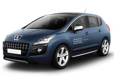 2012 Peugeot 3008 HYbrid4 Images
