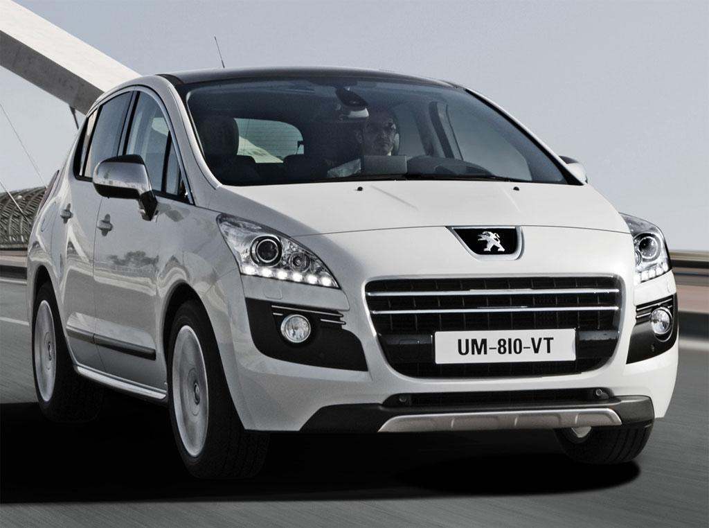 luxury autos 2012 peugeot 3008 hybrid4 announced. Black Bedroom Furniture Sets. Home Design Ideas