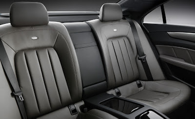 2012 Mercedes-Benz CLS Backseat