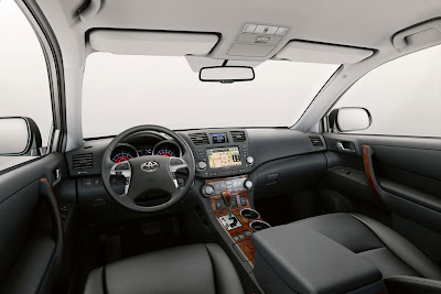 2011 Toyota Highlander Interior