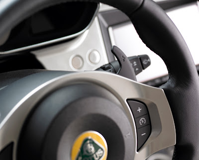 2011 Lotus Evora S Steering Wheel