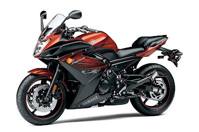 2011 Yamaha FZ6R Motorcycle