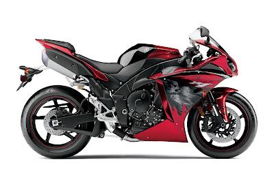 2011 Yamaha YZF-R1 Black Red2011 Yamaha YZF-R1 Black Red