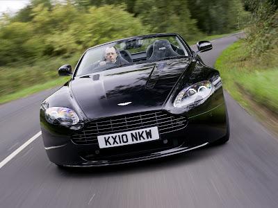 Aston Martin V8 Vantage N420 Roadster Front View