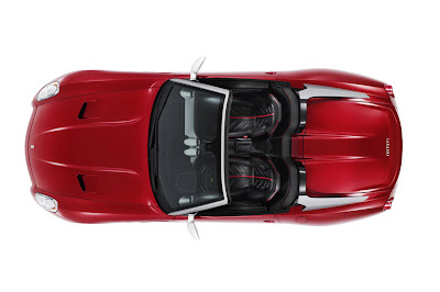 2011 Ferrari 599 Sa Aperta Overhead Photo