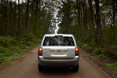 2011 Jeep Patriot Rear View