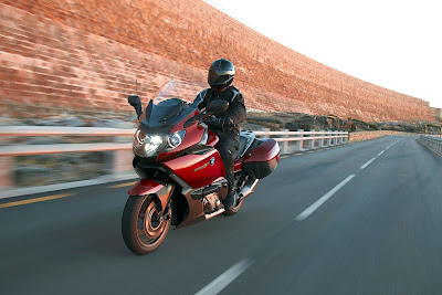 2011 BMW K1600GT in Action