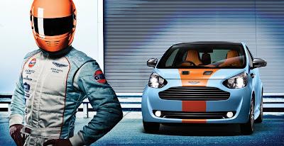 2011 Aston Martin Cygnet Race Car