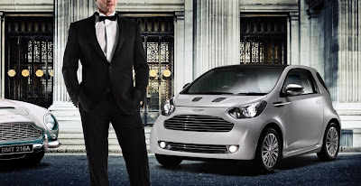 2011 Aston Martin Cygnet Luxury Car