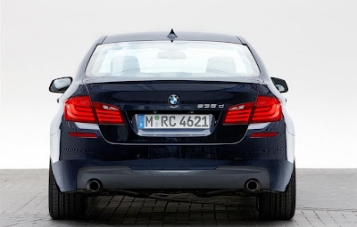 2011 BMW 5-Series M Sport Rear View