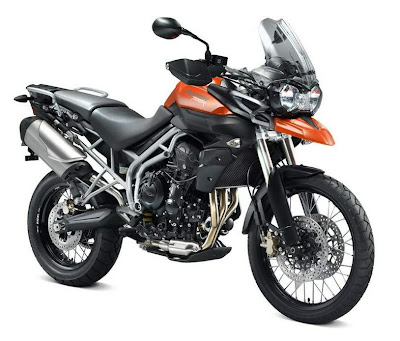 2011 Triumph Tiger 800XC Sport Touring Bike