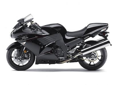 2011 Kawasaki Ninja ZX-14 Black Series