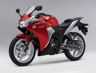 2011 Honda CBR250R Official Pictures