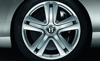 2012 Bentley Continental GT Wheel