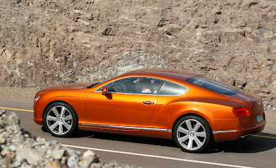 2012 Bentley Continental GT Side View