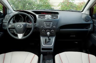 2012 Mazda5 Interior View