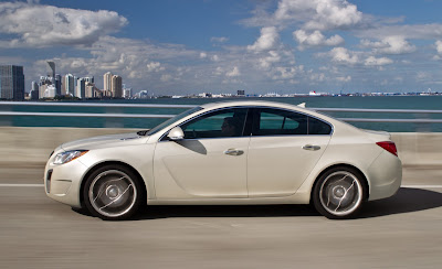 2012 Buick Regal GS Side View