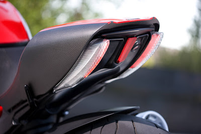 2011 Ducati Diavel Carbon Taillight