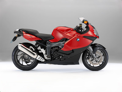 2011 BMW K1300S Red