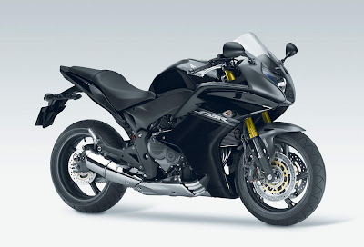 2011 Honda CBR 600F Black Color