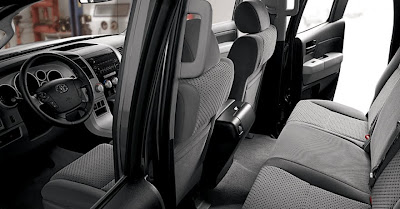 2011 Toyota Tundra Rear Seats