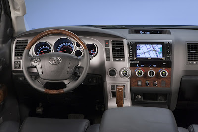 2011 Toyota Tundra Car Interior