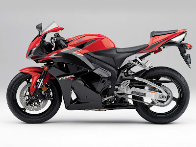 2011 Honda CBR600RR Black Red Color